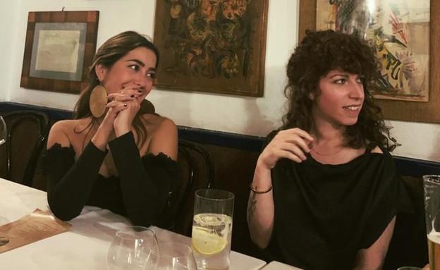 """דניאל שמי (מימין), בסופ""""ש במדריד (צילום: באדיבות המצולמת)"""