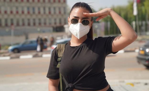אלין כהן מתגייסת (צילום: ערן כהן לסוכנות ADD, יחסי ציבור)