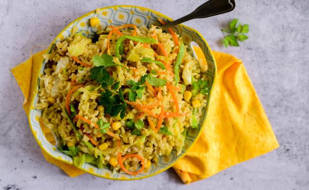 אורז שאריות (צילום: שרית נובק - מיס פטל, אוכל טוב)