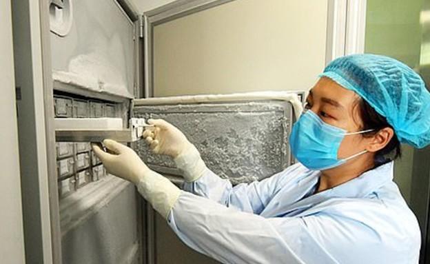 מקרר הווירוסים במעבדה בווהאן