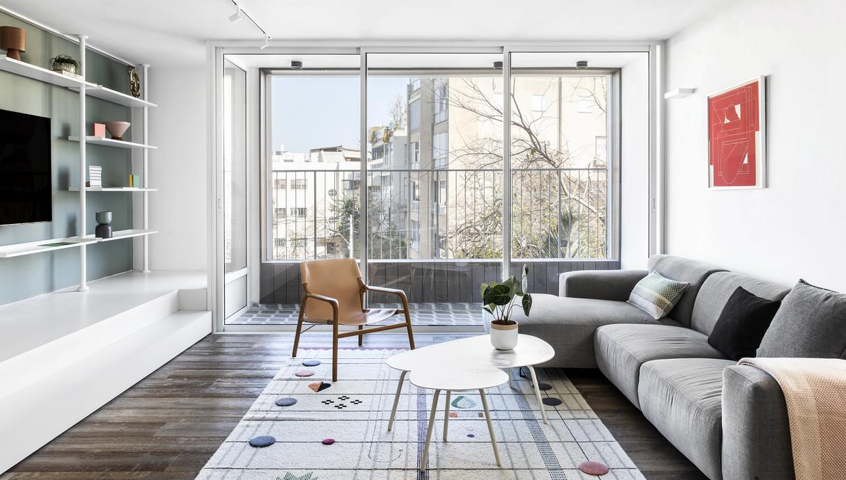 9 - דירה בתל אביב, עיצוב סטודיו b6