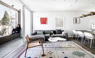 11 - דירה בתל אביב, עיצוב סטודיו b6 (צילום: איתי בנית)