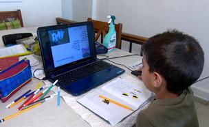 זעם על תוכנית הלמידה מרחוק (צילום: N12)