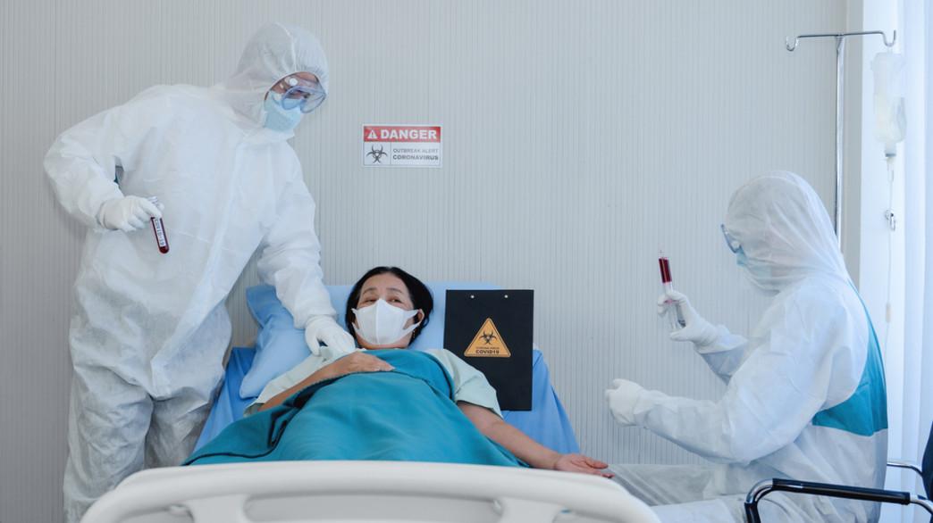 מטופלת קורונה (אילוסטרציה:  Mongkolchon Akesin, shutterstock)