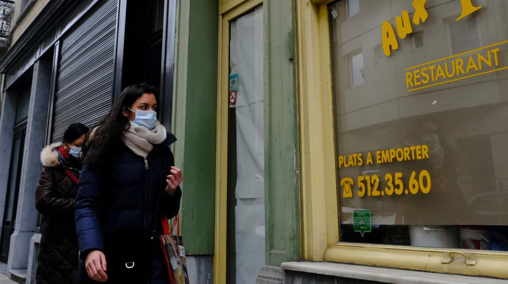 קורונה, בלגיה (צילום: Alexandros Michailidis / Shutterstock.com)
