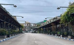 העיר הריקה (צילום: יובל גסר צילומי אוויר )