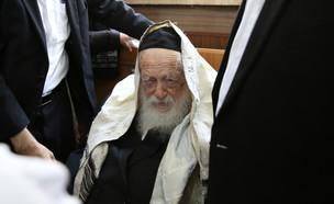 הרב קנייבסקי (צילום: Photo by Yaakov CohenFlash90)