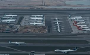מטוסים חונים (צילום: Anthony Kwan, getty images)