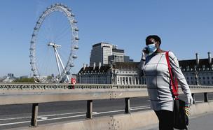 קורונה בלונדון (צילום: AP)