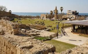כביש 2 נמל קיסריה (צילום: נמרוד גליקמן)
