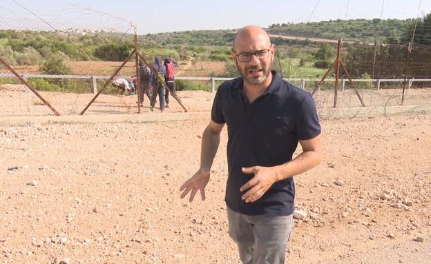 הפועלים הפלסטינים במנוסה