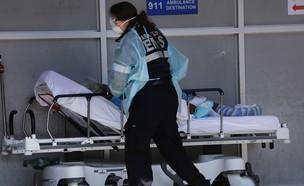 """ארה""""ב שברה שיא עולמי כשביממה אחת מתו 2,000 איש (צילום: SKY NEWS)"""