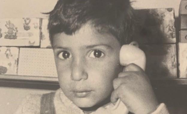 אביחי דנוך כילד (צילום: באדיבות המשפחה)