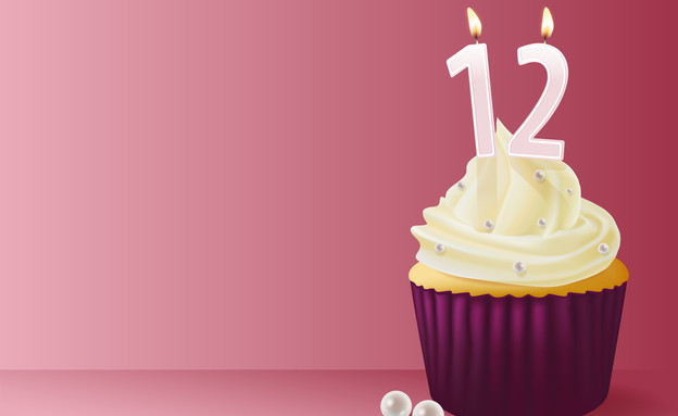 יום הולדת 12 (צילום: mimit2007, shutterstock)