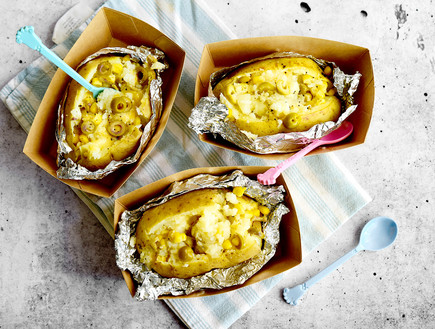 תפוחי אדמה ממולאים - שלישייה