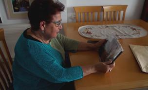 """רותי לוי, אמו של אייל לוי ז""""ל (צילום: חדשות 12)"""