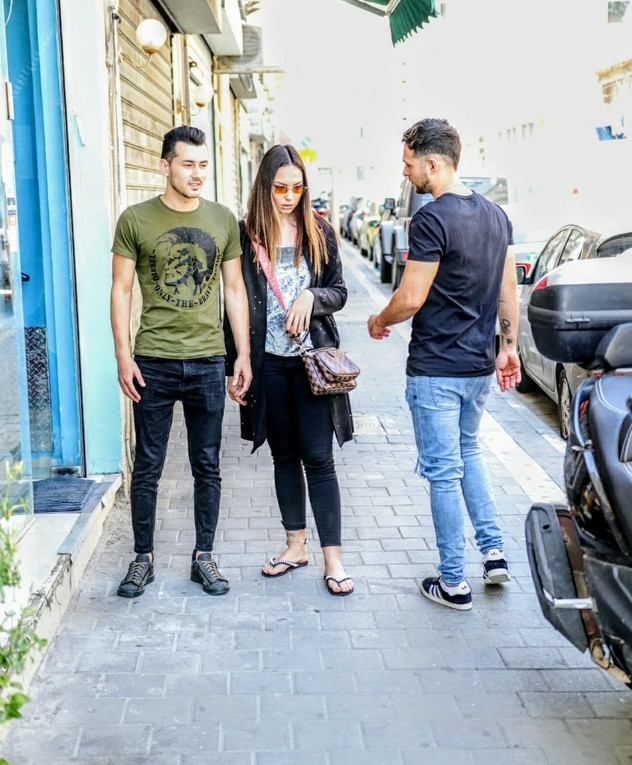 ישראל אוגלבו וניקול רזניקוב פותחים עסק. אפריל 2020