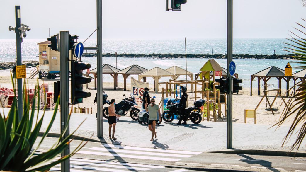 תל אביב, קורונה (צילום:  none)