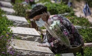 יום הזיכרון, בית עלמין, בית קברות  (צילום: AP)