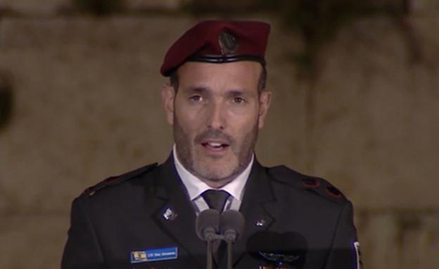 החזן הראשי לצה''ל (צילום: צילום מסך)