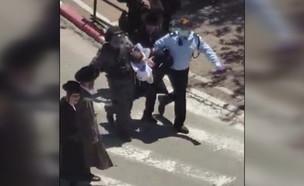 עימותים בין חרדים לשוטרים בבית שמש