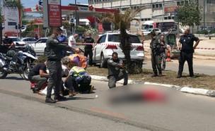 חשד לפיגוע דקירה בכפר סבא