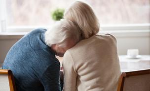 זוג קשישים (צילום: shutterstock | fizkes)