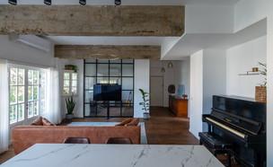 דירה בתל אביב, עיצוב שירי הלר שוורץ (צילום: אנסטסיה פרילוצקי)
