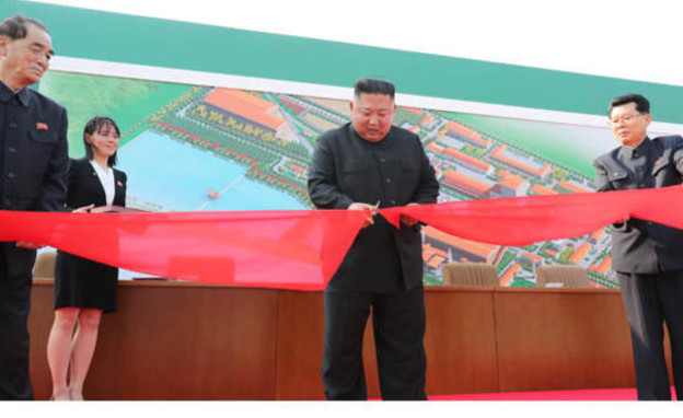 שליט צפון קוריאה בהופעתו הראשונה לאחר 20 יום