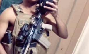 אקדחים בטיק טוק (צילום: tiktok)