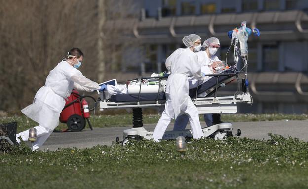 קורונה חולה מתים בית חולים (צילום: Sakchai Lalit | AP)