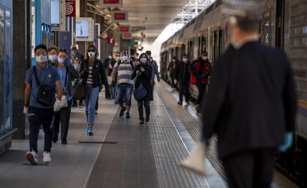 תחנת הרכבת המרכזית ברומא (צילום: Antonio Masiello, getty images)