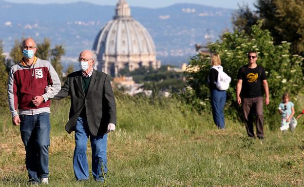 סנט פיטר בזילקה ברומא (צילום: Franco Origlia, getty images)