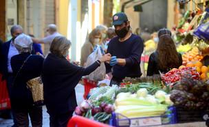 שוק בבולוניה (צילום: Roberto Serra, getty images)