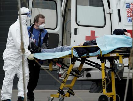 השיאים ברוסיה נשברים: כ-1,000 מתים בכל יום