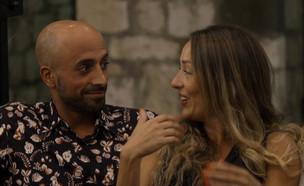 רוני ונעם פוגשים את הזוגות (צילום: מתוך: חתונה ממבט ראשון 3, קשת 12)