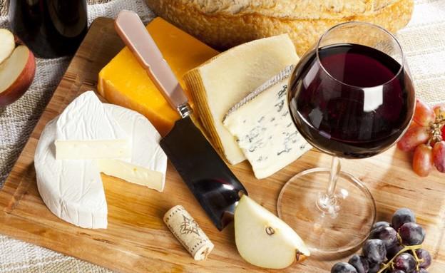 יינות וגבינות (צילום: Dasha Petrenko | Shutterstock)