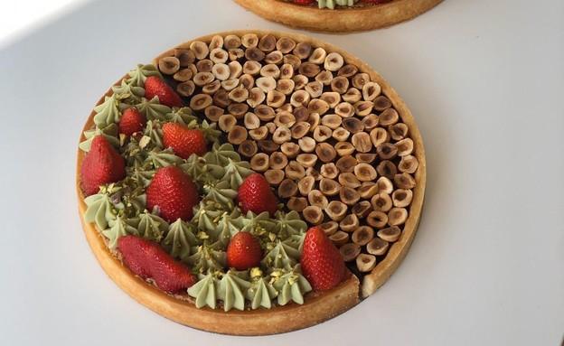 עוגות מחולקות אגוזי לוז ופיסטוק תות מורן גיל