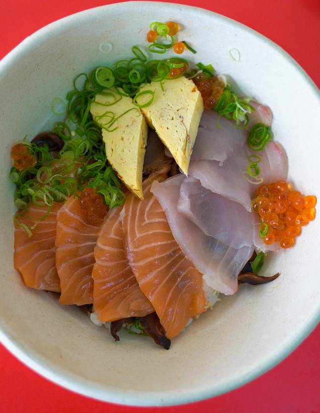 צ'יראשי. אורז מצוין, דגים טובים (צילום: צילום ביתי, אוכל טוב)