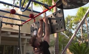 שיעור חמישי - אימון מכשולים (צילום: Ninja Cube)
