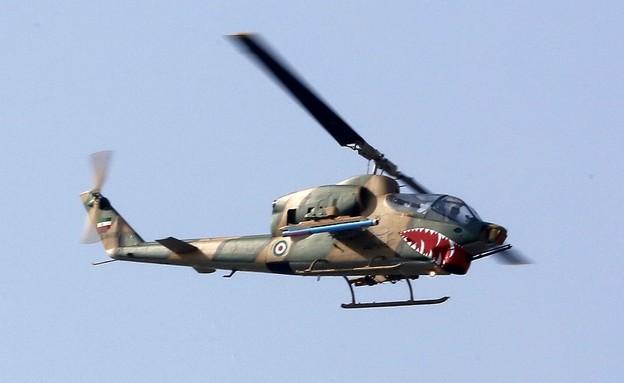 מסוק צבאי (צילום: ATTA KENARE/AFP via Getty Images)