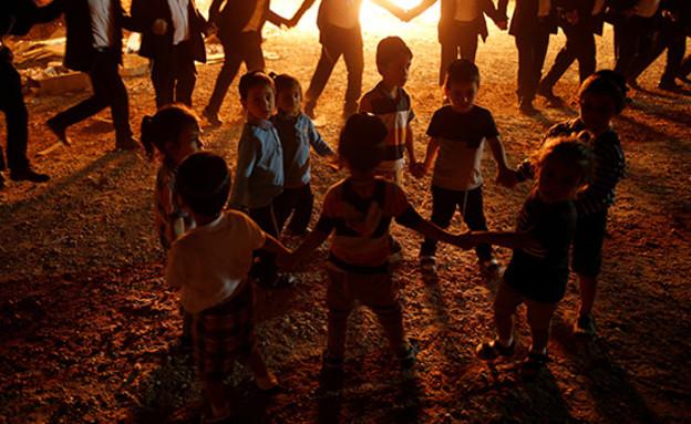 חגיגות באשדוד (צילום: רויטרס, חדשות)