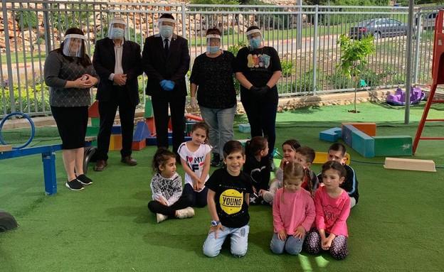 גן ילדים בצפת (צילום: עיריית צפת)