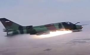 ניסוי שיגור פאג'ר ממטוס (צילום: prtrtur, יוטיוב)