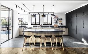 בית במרכז, עיצוב פנים קרן ניב טולדנו, אדריכל אייל בן עיון - 25 (צילום: איתי בנית)