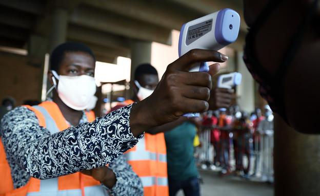 קורונה בגאנה (צילום: רויטרס, שי פרנקו,רויטרס)