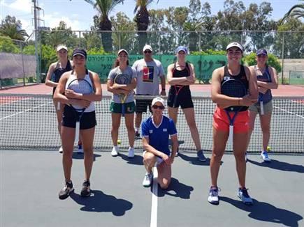 נבחרת הפדרציה (צילום: לידור גולדברג, איגוד הטניס) (צילום: ספורט 5)