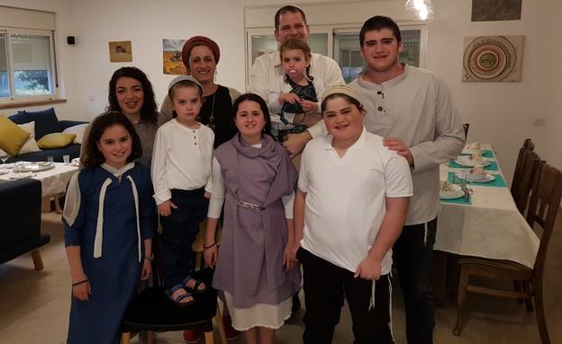 משפחת שוורץ (צילום: אלבום משפחתי)
