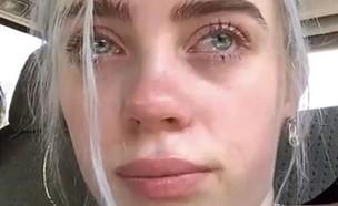 בילי בוכה (צילום: צילום מסך אינסטגרם)