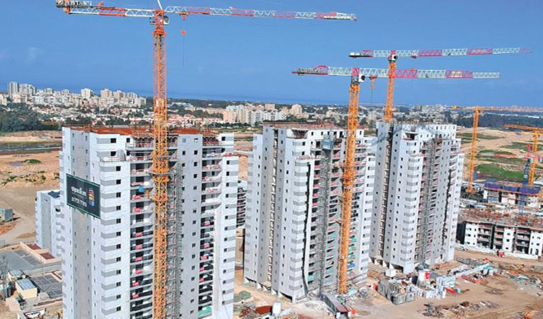 פרויקט מגורים בבנייה (צילום: shutterstock)